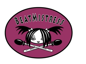 Logo for the band Beatmistress by Craig Clark.