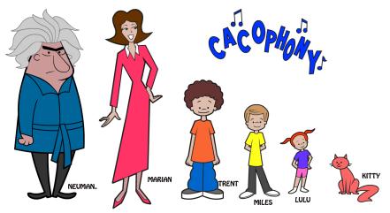Cacophony Crew ©Hallmark Spiritclips