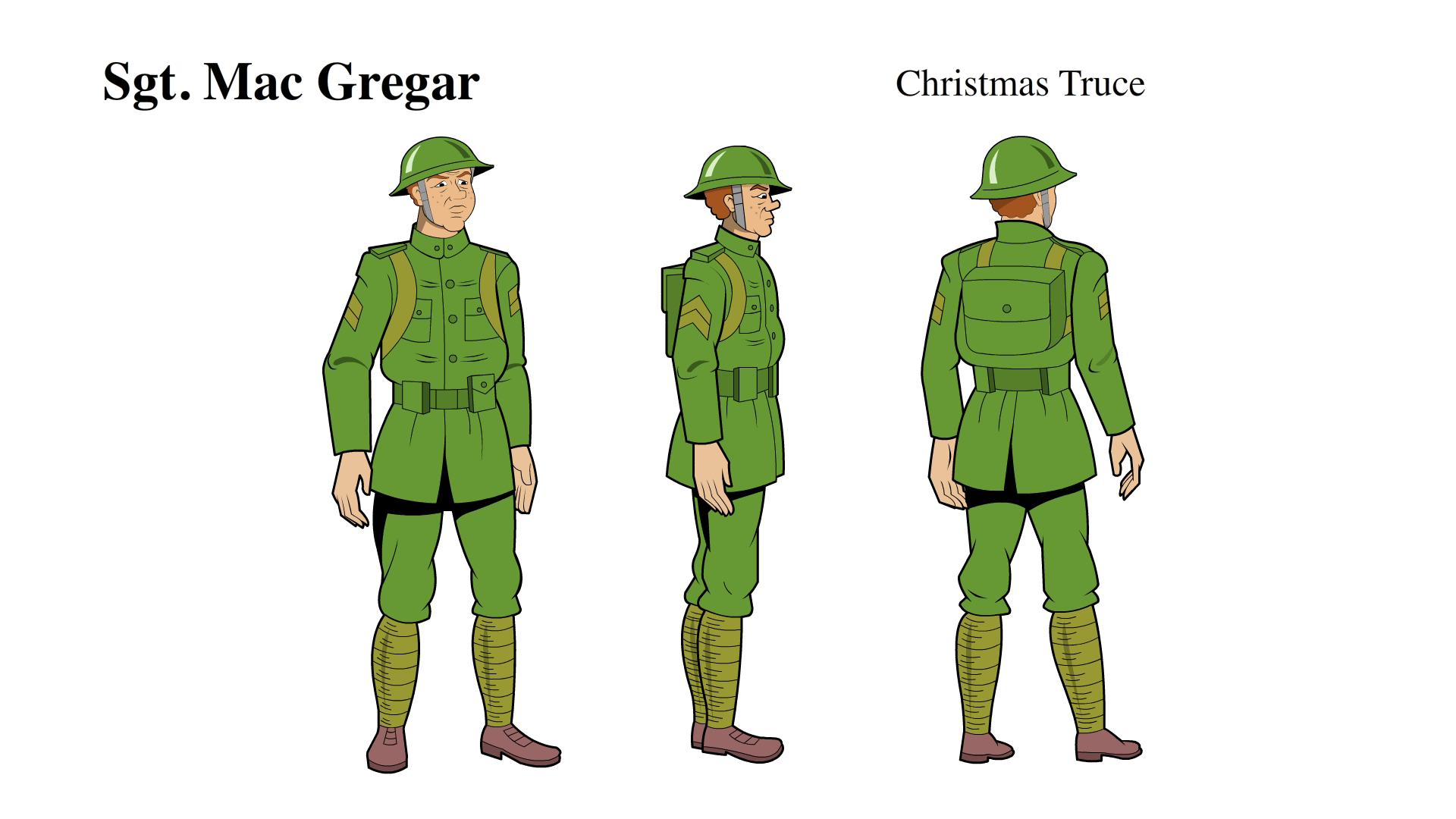 Christmas in the Trenches ©Hallmark Spiritclips