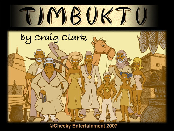 From the Timbuktu short film by Craig Clark.