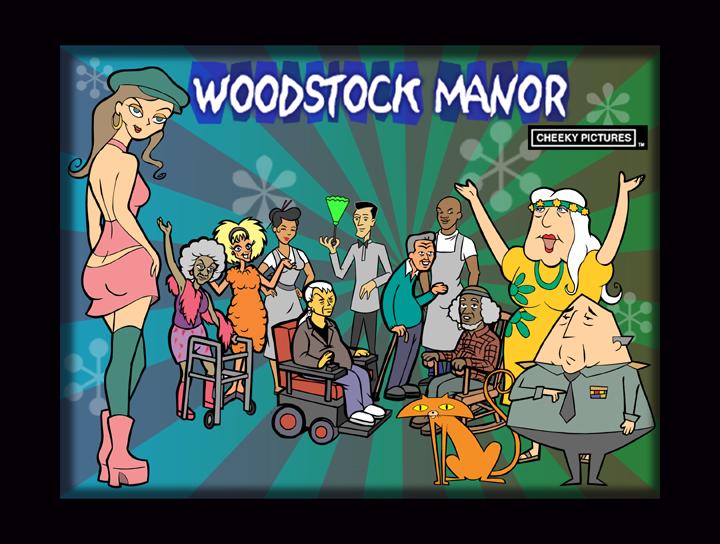 Woodstock Manor Title Card